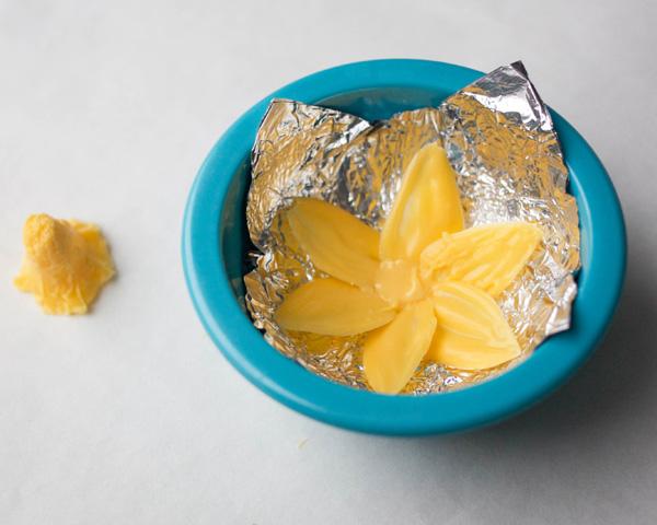 Chocolate Daffodils - how to make a chocolate flower cake, featuring chocolate daffodils | by Erin Gardner for TheCakeBlog.com