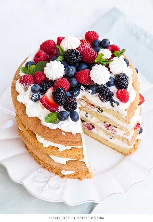 Toffee Sponge Cake