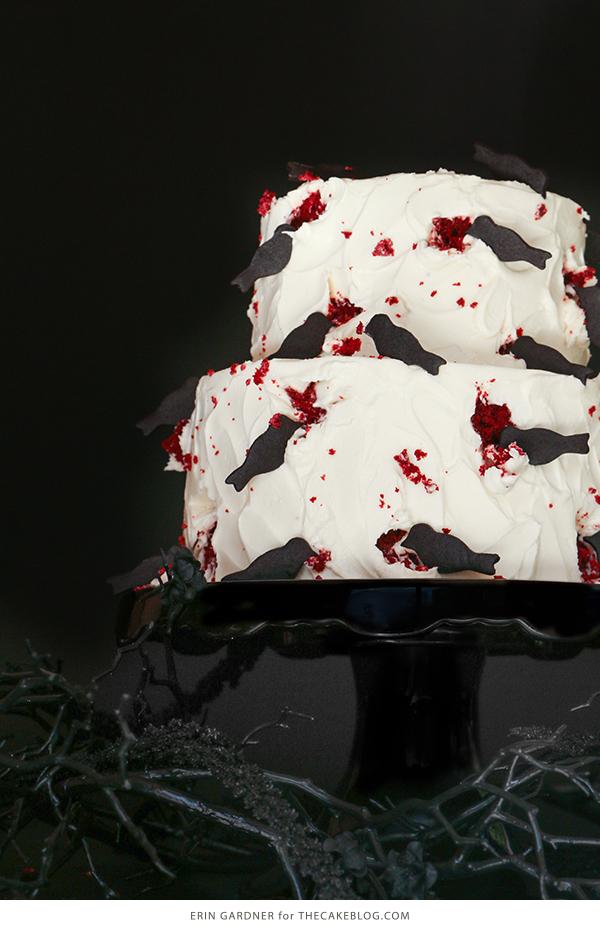 Cake Decorate Velvet Red