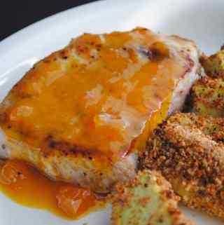 Apricot-Mustard Pork Chops