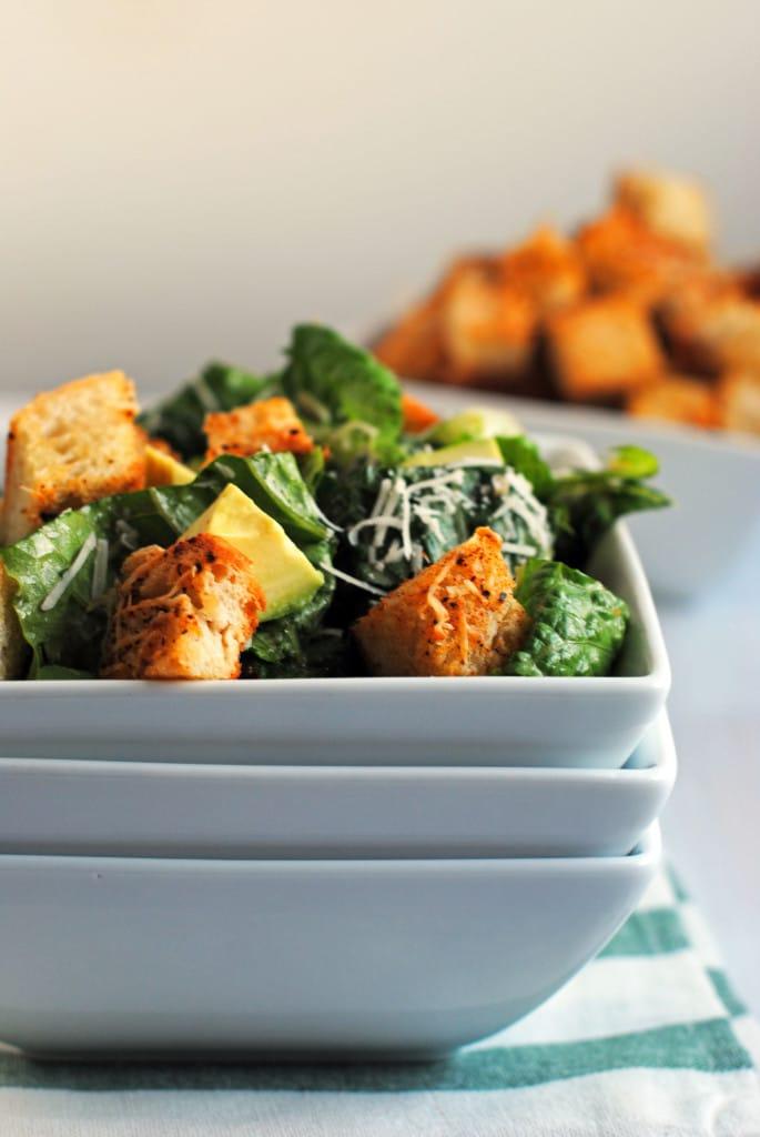 Tex-Mex Caesar Salad