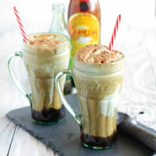 Coca-Cola and Kahlua Float