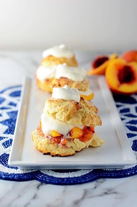Peach Shortcakes