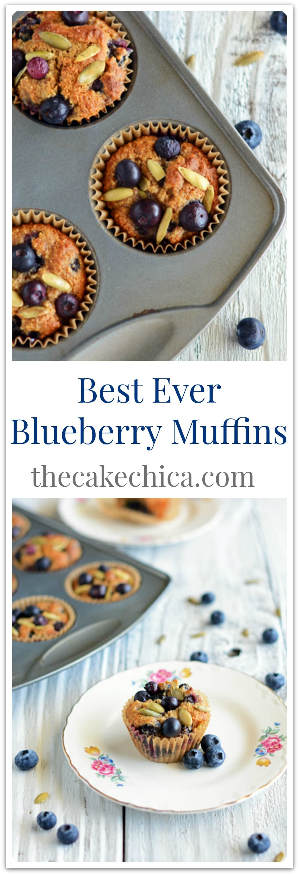 Best Ever Blueberry Muffins