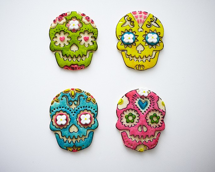 Mexican Sugar Skull Girl