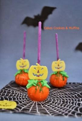 Cake pops de Ruth para el reto de Halloween