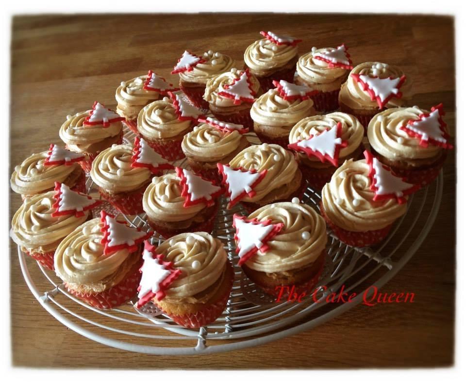 Cupcakes de turrón de jijona