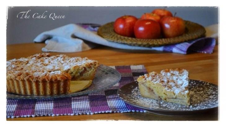 """Tarta de manzana polaca """"szarlotka"""", una manzana al día del doctor te alejaría y si es en tarta mejor que mejor"""