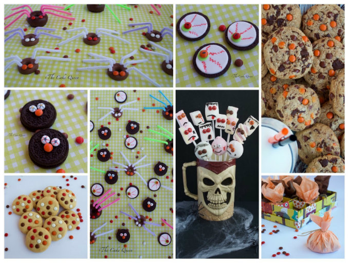 Ideas para Halloween con mini lacasitos