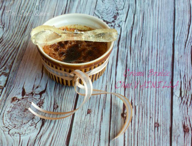 Crème Brulée de Chai Vainilla