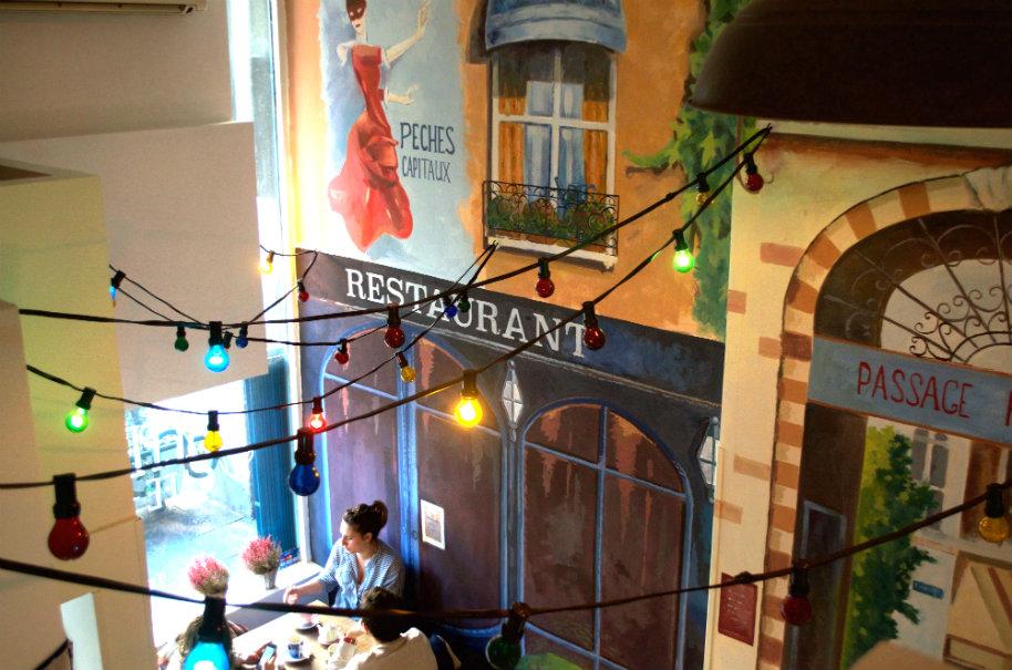 Mi primera reunión clandestina de reposteros en Madrid, nos reunimos en la cafetería Le Petit Bonbon