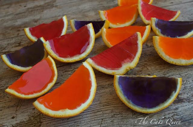 gelatinas o naranjas