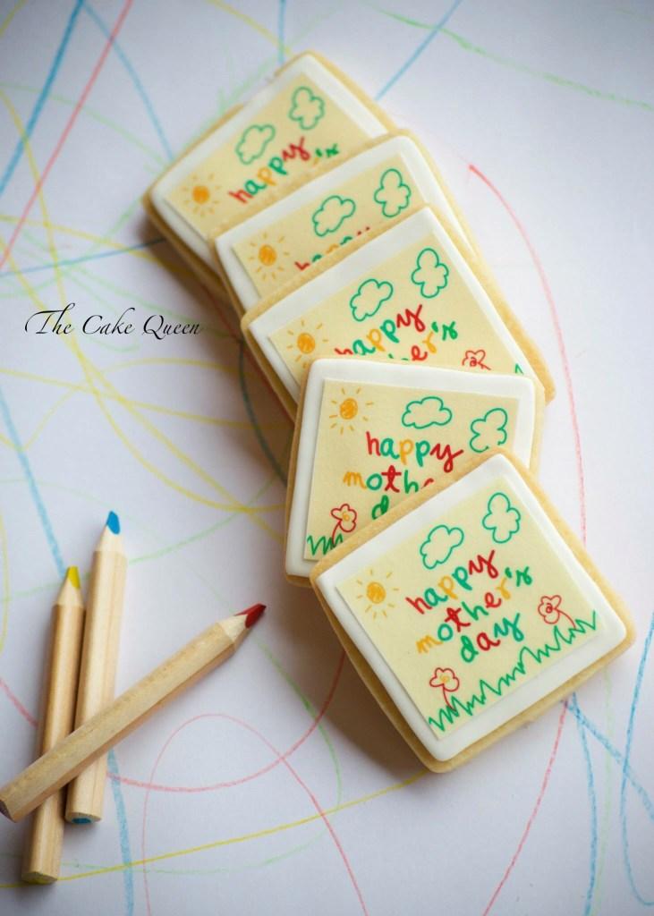 Galletas de mantequilla FELIZ DIA DE LA MADRE