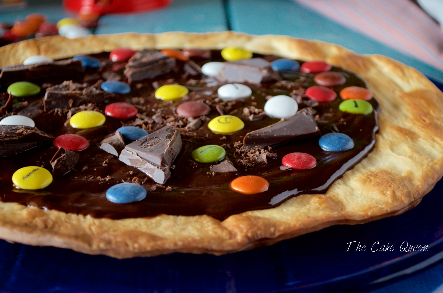 como hacer masa de pizza de chocolate