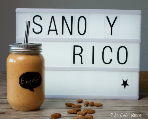 Smoothie de papaya y semillas de chía