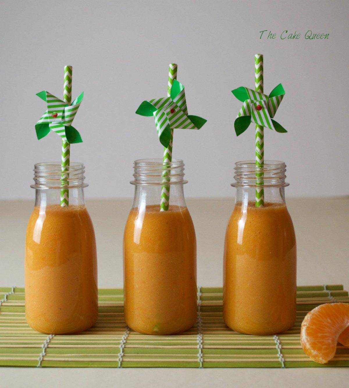 Zumo de naranja y mandarinas