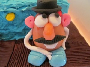 Mr Potato head cake topper
