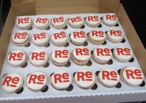 Corporate Event cupcakes