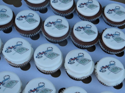 Corporate pharmaceutical cupcakes