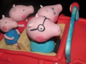 Daddy Pig Cake topper