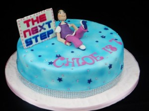 The next step Dancer Birthday cake