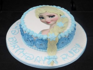 Disneys Frozen Elsa Birthday Cake