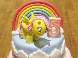 Fluttershy - My little pony cake topper