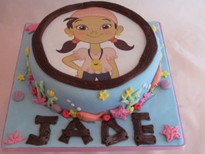 Izzy Pirate Jake and the neverland pirates Cake
