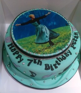 Sound of Music Birthday Cake