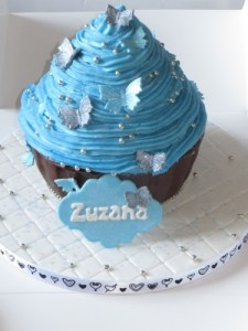 Sparkly Giant Cupcake