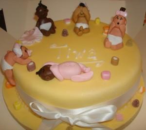 Naming ceremony cake