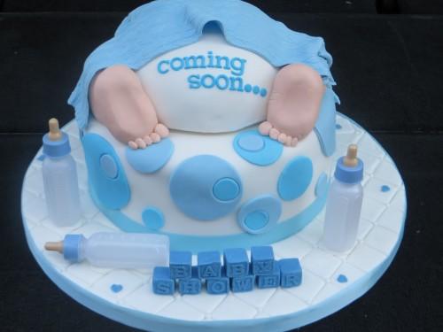baby nappy Shower cake