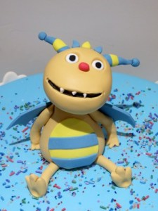 Henry huggle monster cake topper