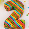 Duple Number Shape Cake