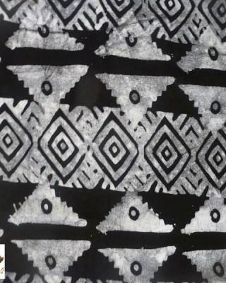 Batik Print – Black