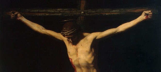 Painting of Christ on the Cross