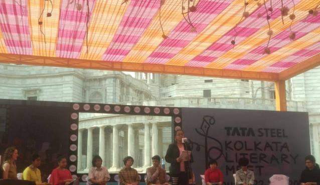 TCS students at The Junior Kolkata Literary Meet - The