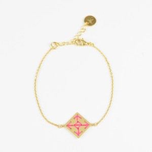 The Camelia bijoux - Bracelet Socco rose