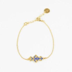 The Camelia bijoux - Bracelet Souika bleu majorelle