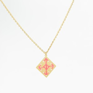 The Camelia bijoux - Collier Socco corail 1