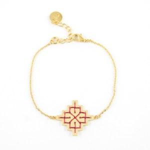 Bracelet Badi bordeaux