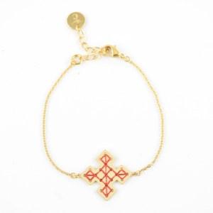 Bracelet Skala terracotta