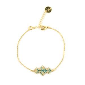 Bracelet Souika bleu canard