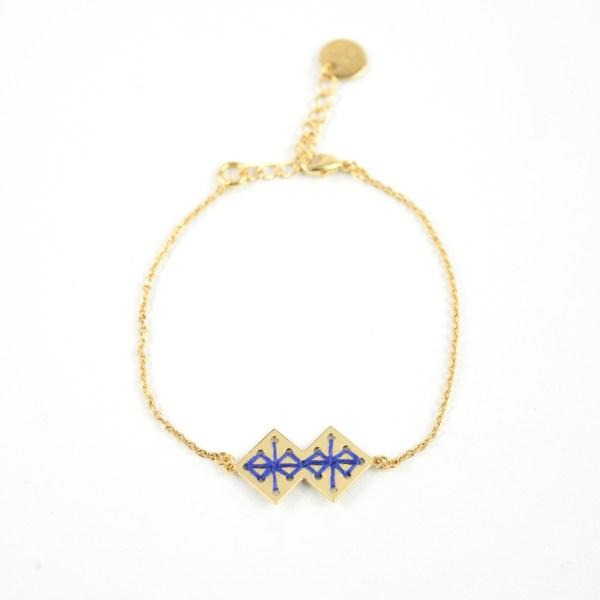 Bracelet Chouara bleu majorelle