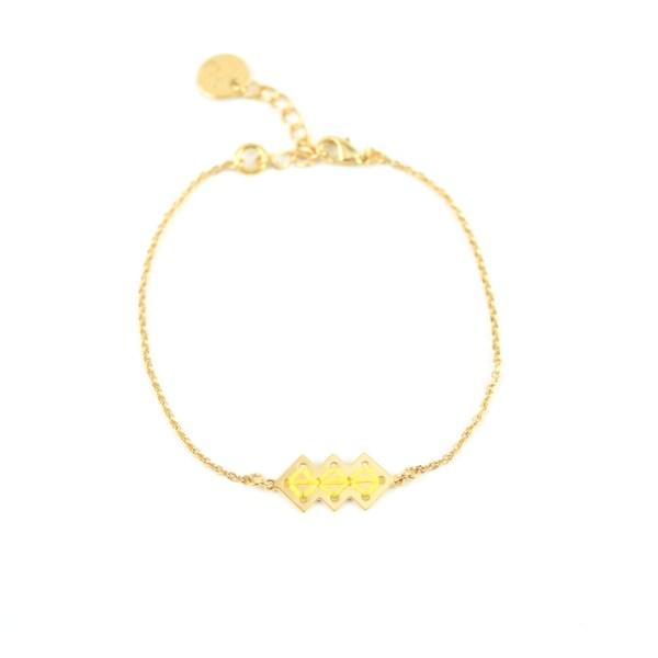 Bracelet Mellah jaune 2