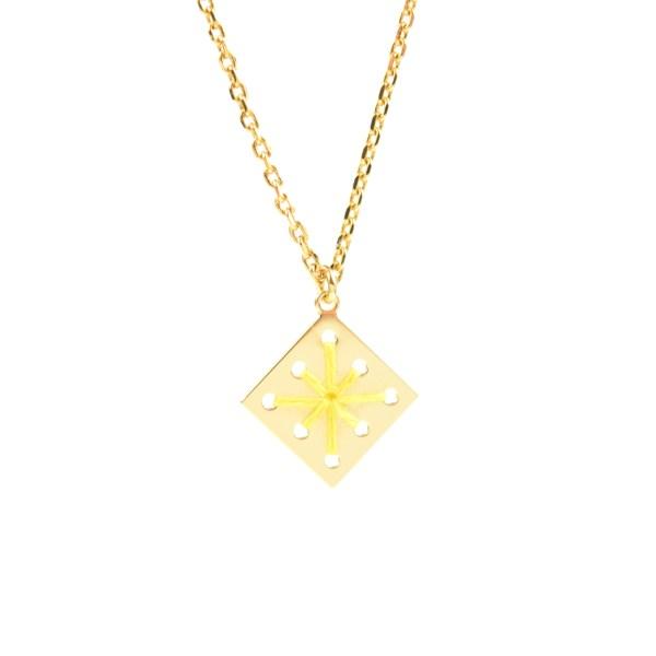 Collier Ménara jaune