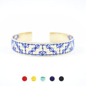 Manchette Zagora bleu majorelle 5 couleurs