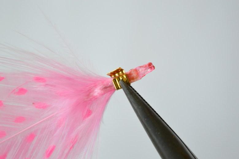 DIY - Collier plumes peintes