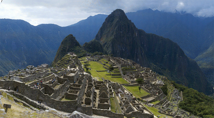 Machu Picchu at 12 Gigapixels - by Jeff Cremer