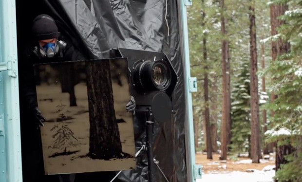 Ian Ruhter's Mobile Camera Obscura & Rare 19th Century Era Lens